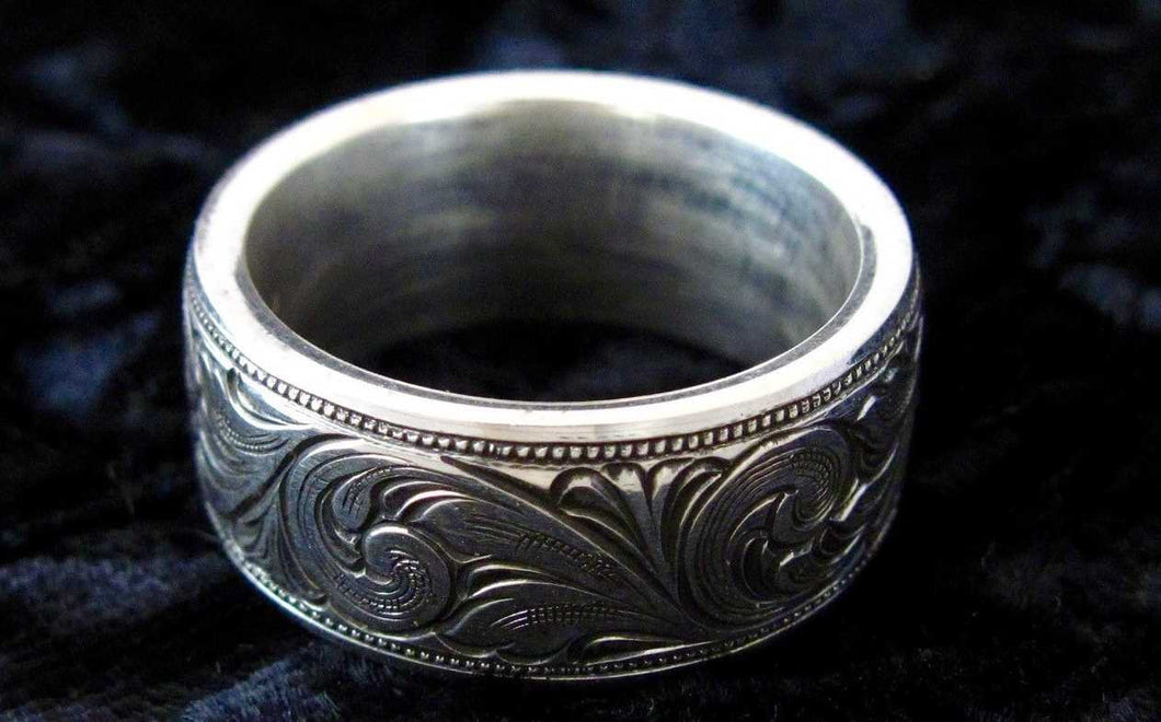 The Arizona - Hand-engraved Ring