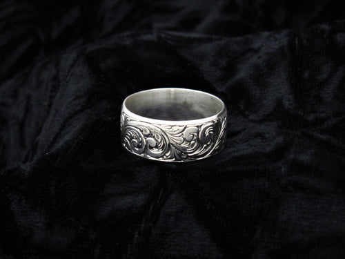 The Texican - Hand-engraved Ring