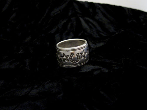 Stars and Horseshoes Ring