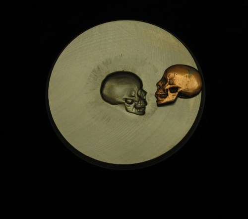 Impression Die - Skull Left Profile