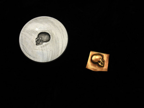Impression Die - Skull Right Profile