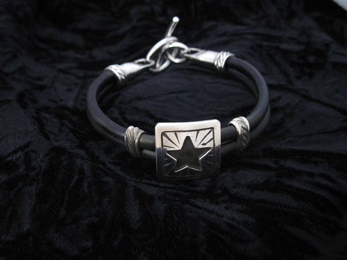 Single Star Concho Bracelet