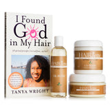 Hairiette Simple Soapless Kit With Free Book By Tanya Wright, 3 Piece