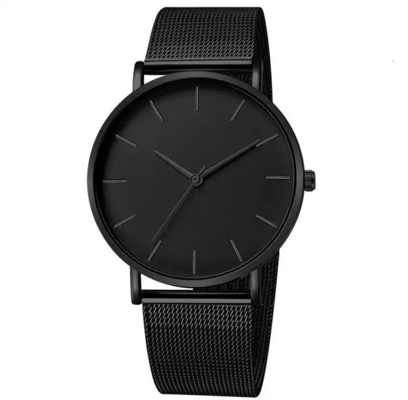 Mr.Adams Triple Black Men's Watch - Mr.Adams