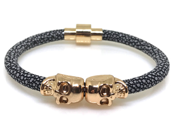 Gold Ace Outlaws | Grey Stingray Bangle - Mr.Adams