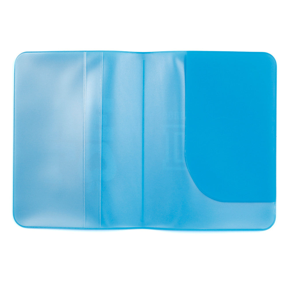 Passport Protector Blue and white