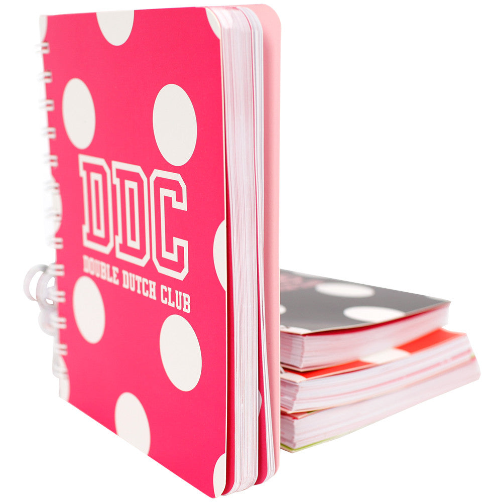 Notebooks Pink and white