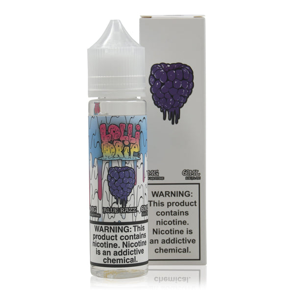 Blue Razz 60ml by Lollidrip