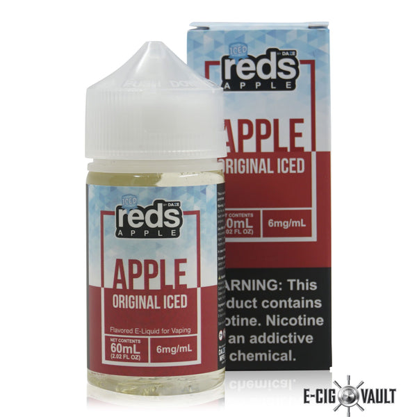 Reds Apple Iced E-Juice by 7Daze