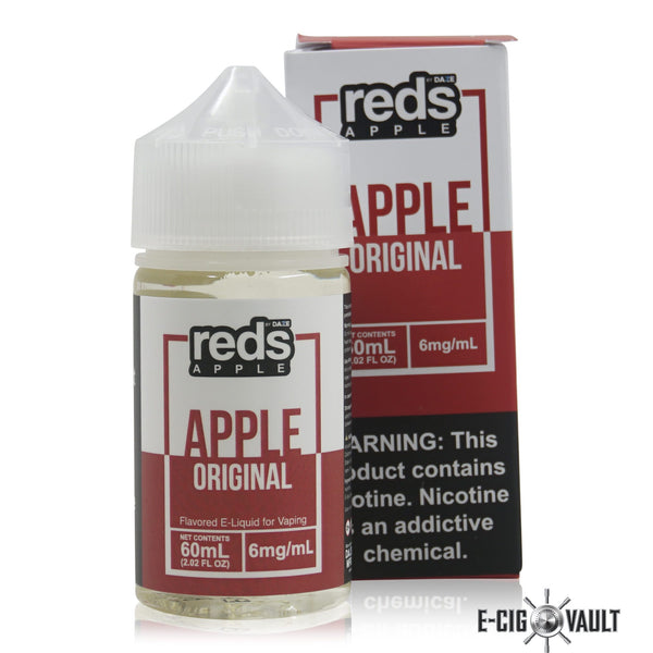 Reds Apple E-Juice by 7Daze