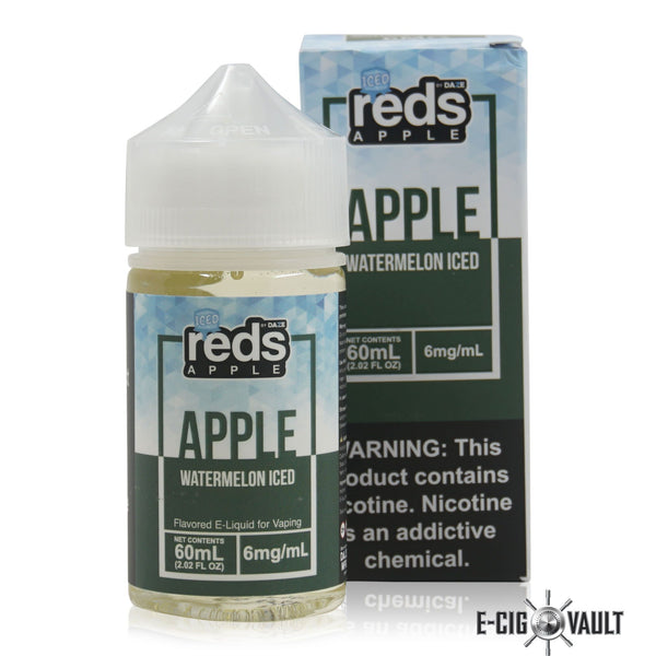 Reds Watermelon Iced E-Juice by 7Daze