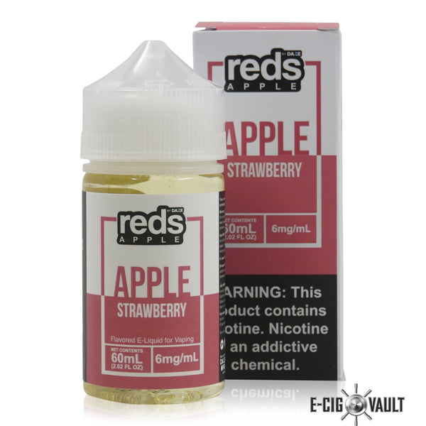 Reds Strawberry E-Juice by 7Daze