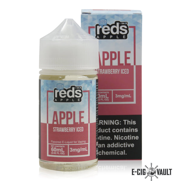 Reds Strawberry Iced E-Juice by 7Daze