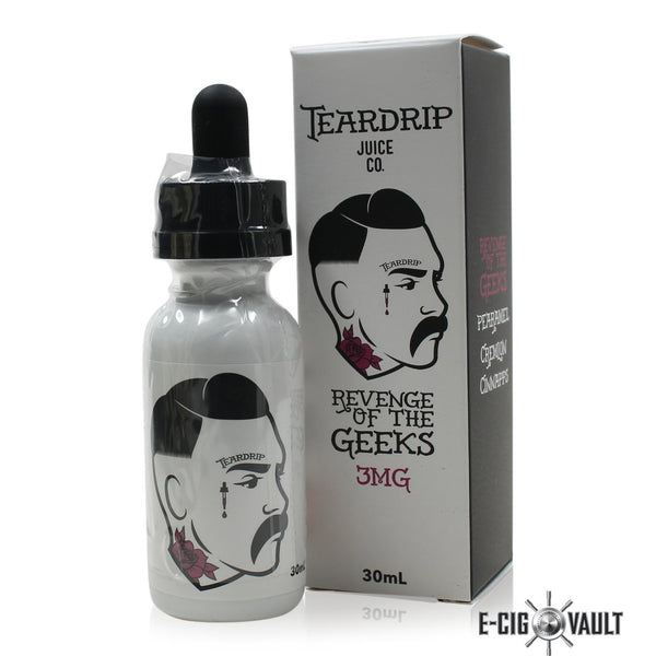 Revenge of the Geeks 60ML by Teardrip - Teardrip - E-Cig Vault Vape Shop and Lounge - Aliso Viejo - Laguna Niguel - Laguna Hills - Dana Point - South Orange County