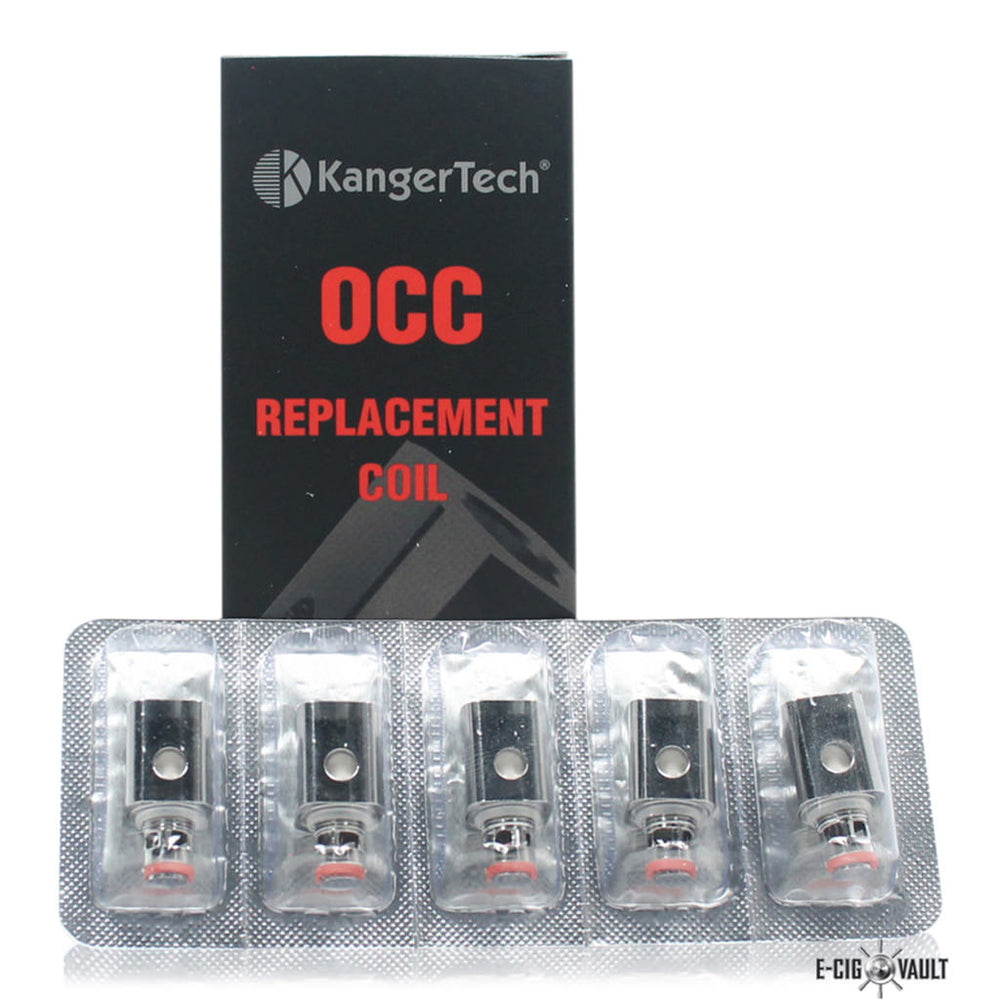 Kangertech Subtank OCC Replacement Coil 5 Pack - Kangertech - E-Cig Vault Vape Shop and Lounge - Aliso Viejo - Laguna Niguel - Laguna Hills - Dana Point - South Orange County