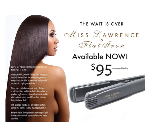 Miss Lawrence Flat Irons
