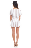 Neutral Striped Romper