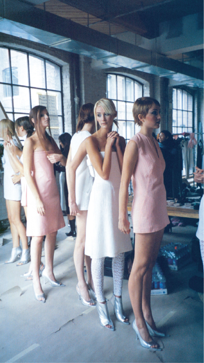 Backstage Spring Summer 2003