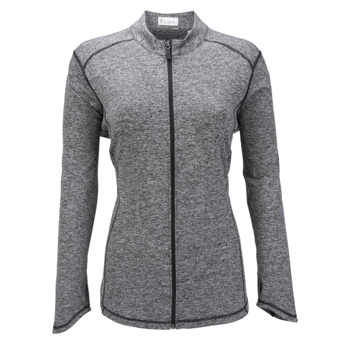 Nancy Lopez Jazzy Jacket Plus Black Heather