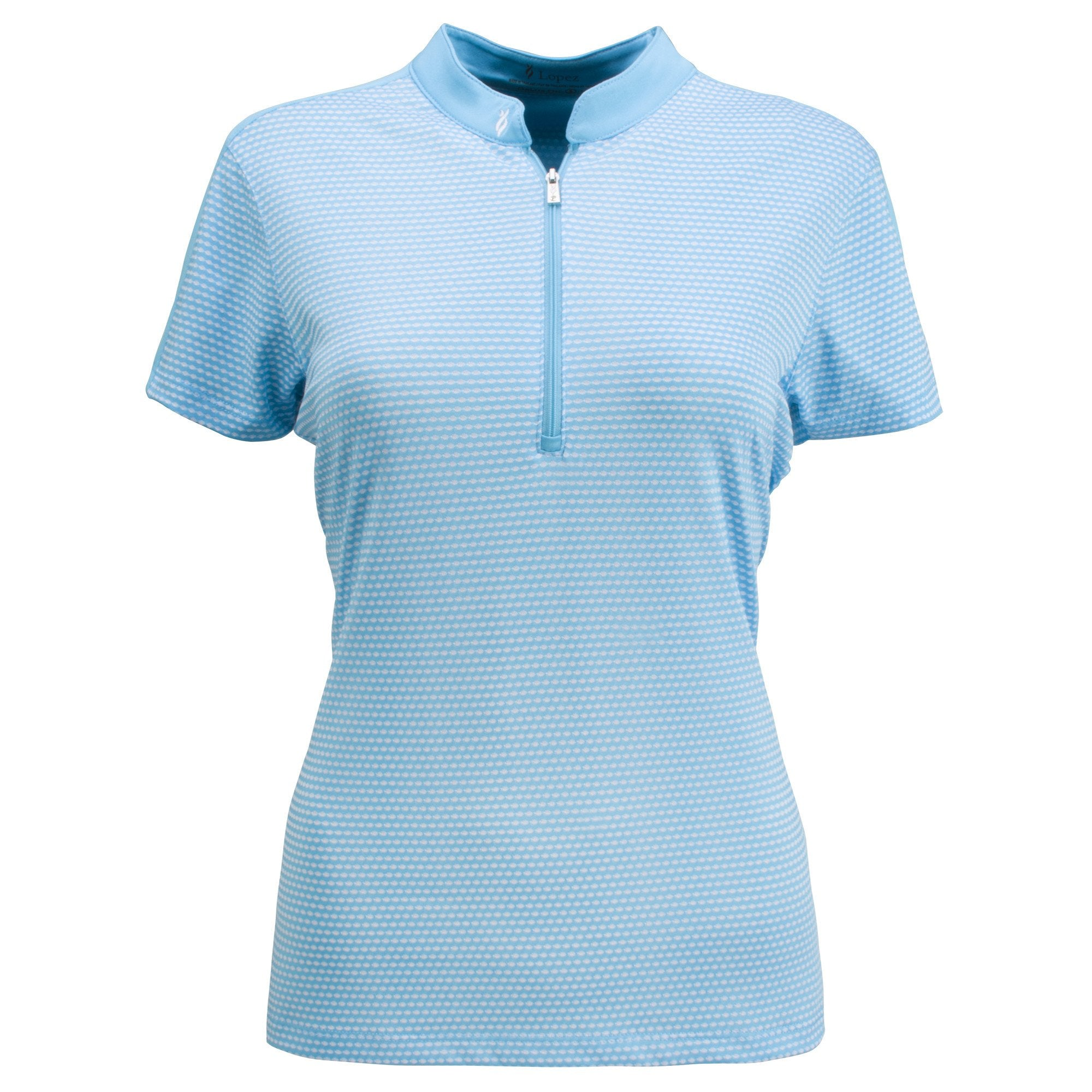 Nancy Lopez Golf Flex Short Sleeve Polo Plus