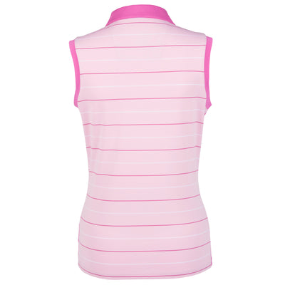 Nancy Lopez Dream Sleeveless Polo Cameo Multi
