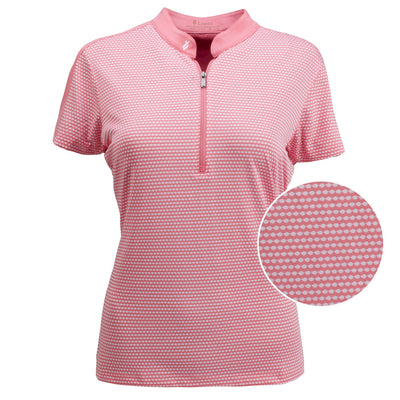 Nancy Lopez Golf Flex Short Sleeve Polo