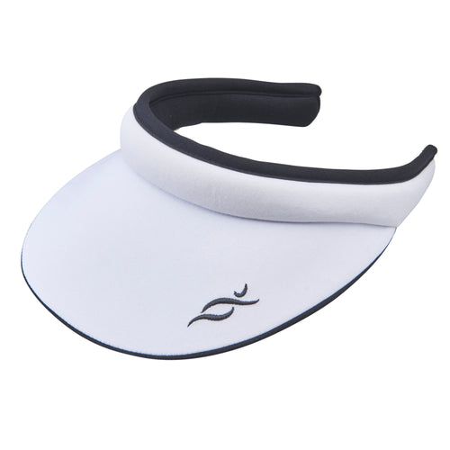 Nancy Lopez Reverse Club Visor Black/White