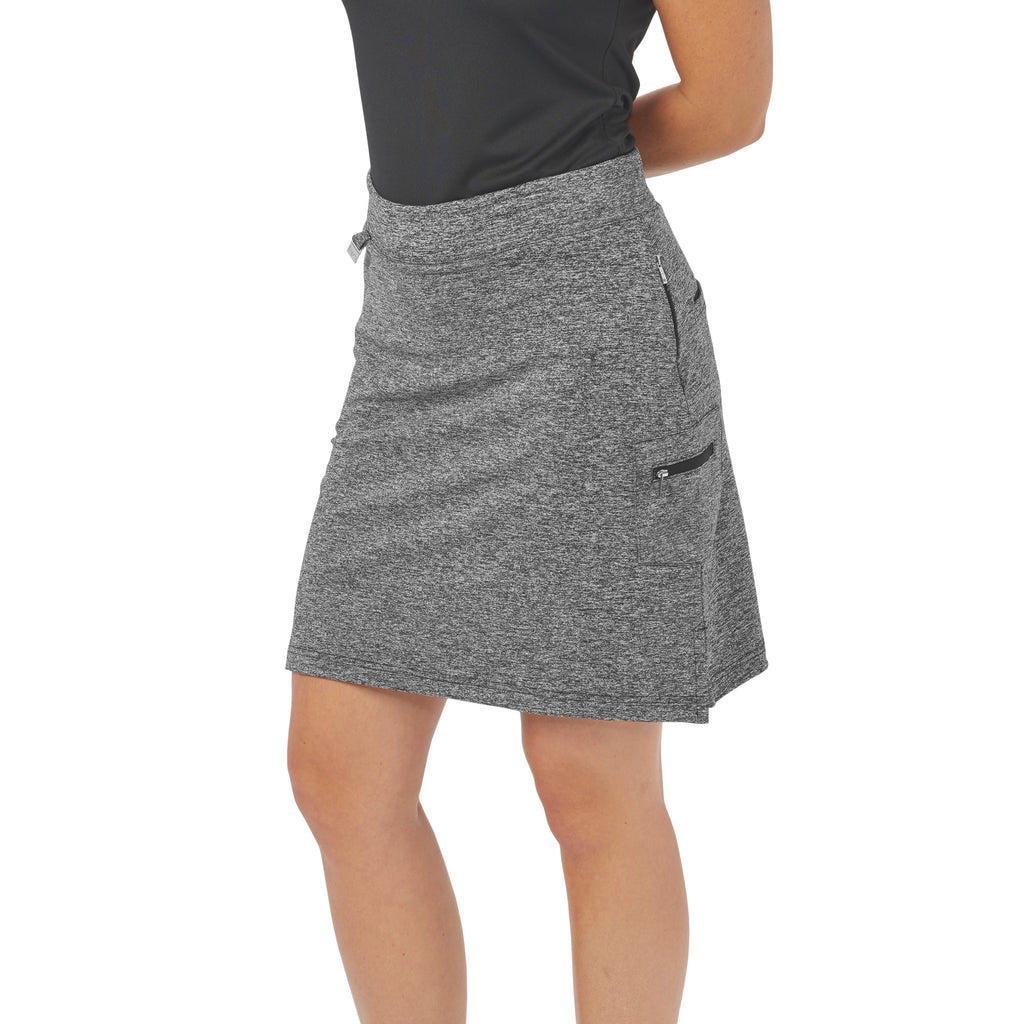 Nancy Lopez Golf Club Skort Black Heather