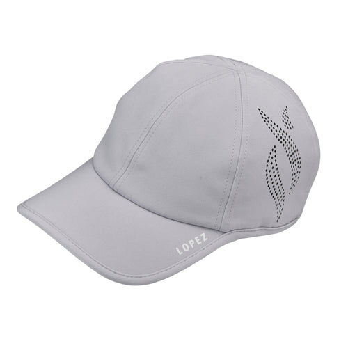 Nancy Lopez Global Hat Silver