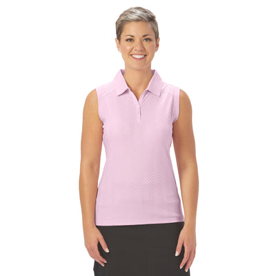 Nancy Lopez Golf Grace Sleeveless Polo
