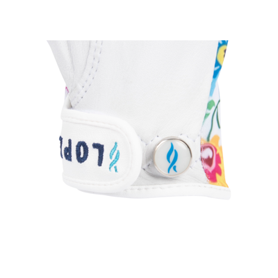 Nancy Lopez Golf Half Finger Beauty Glove