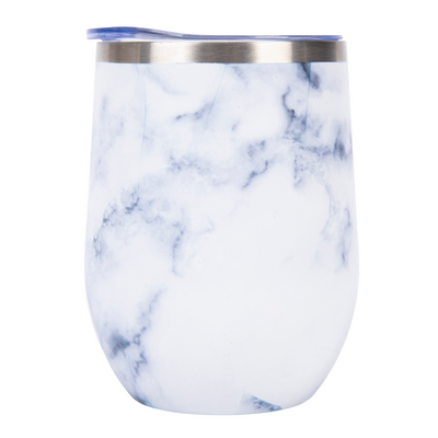 Nancy Lopez Golf Insulated Wine Tumbler Marble