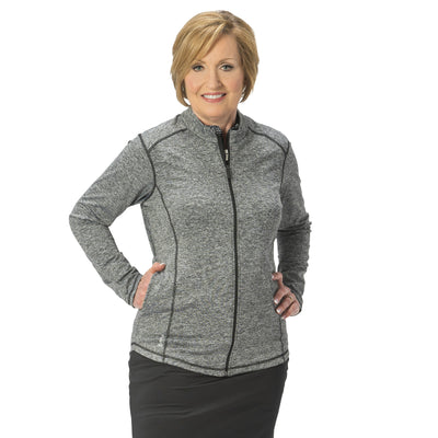 Nancy Lopez Jazzy Jacket Black Heather
