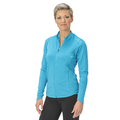 Nancy Lopez Jazzy Jacket Peacock