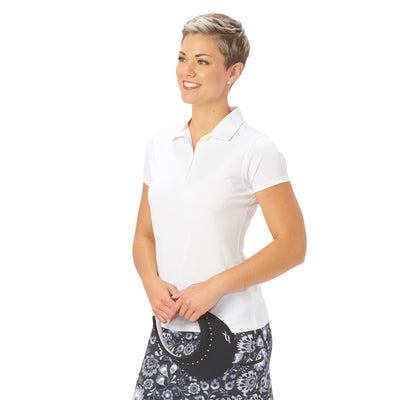 Nancy Lopez Golf Legacy Short Sleeve Polo