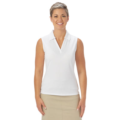 Nancy Lopez Golf Legacy Sleeveless Polo