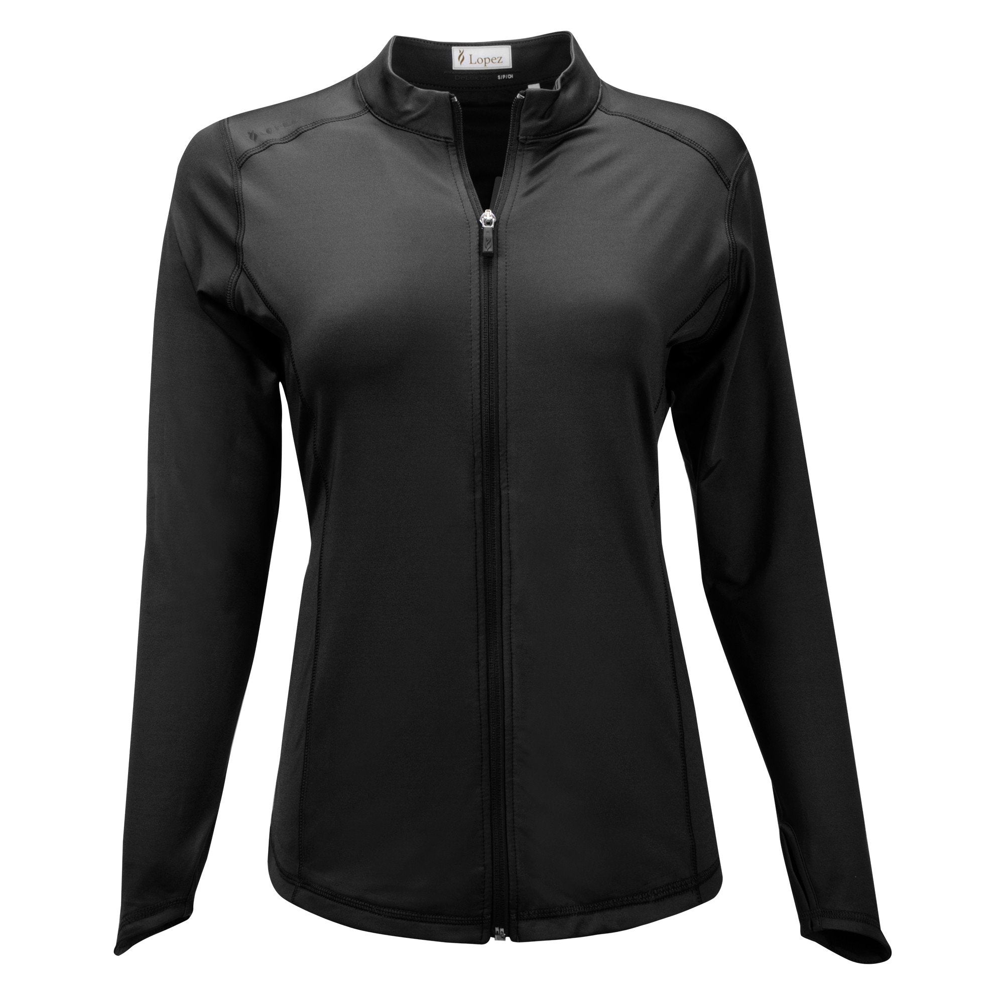 Nancy Lopez Jazzy Jacket Plus Black