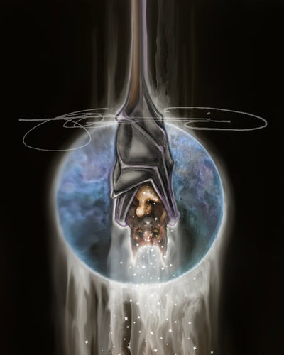Bat- Digital Print / Animal of the Inner Alliance Oracle (file download)