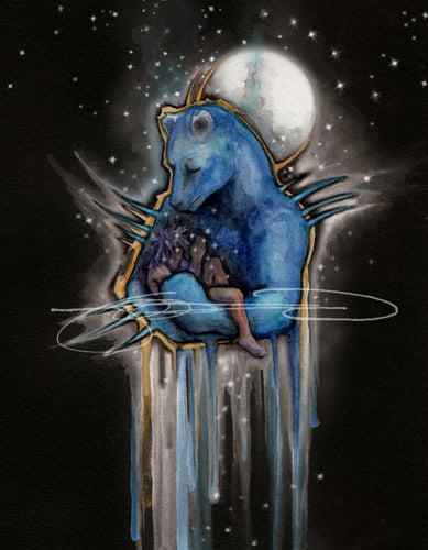 Bear- Digital Print / Animal of the Inner Alliance Oracle, (file download)