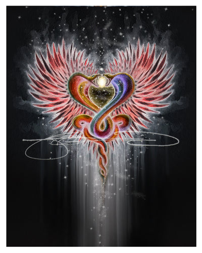 CobraHeart - Inspirational Digital Print Art (file download)