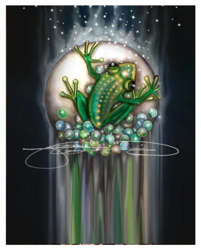 Frog- Digital Print / Animal of the Inner Alliance Oracle (file download)
