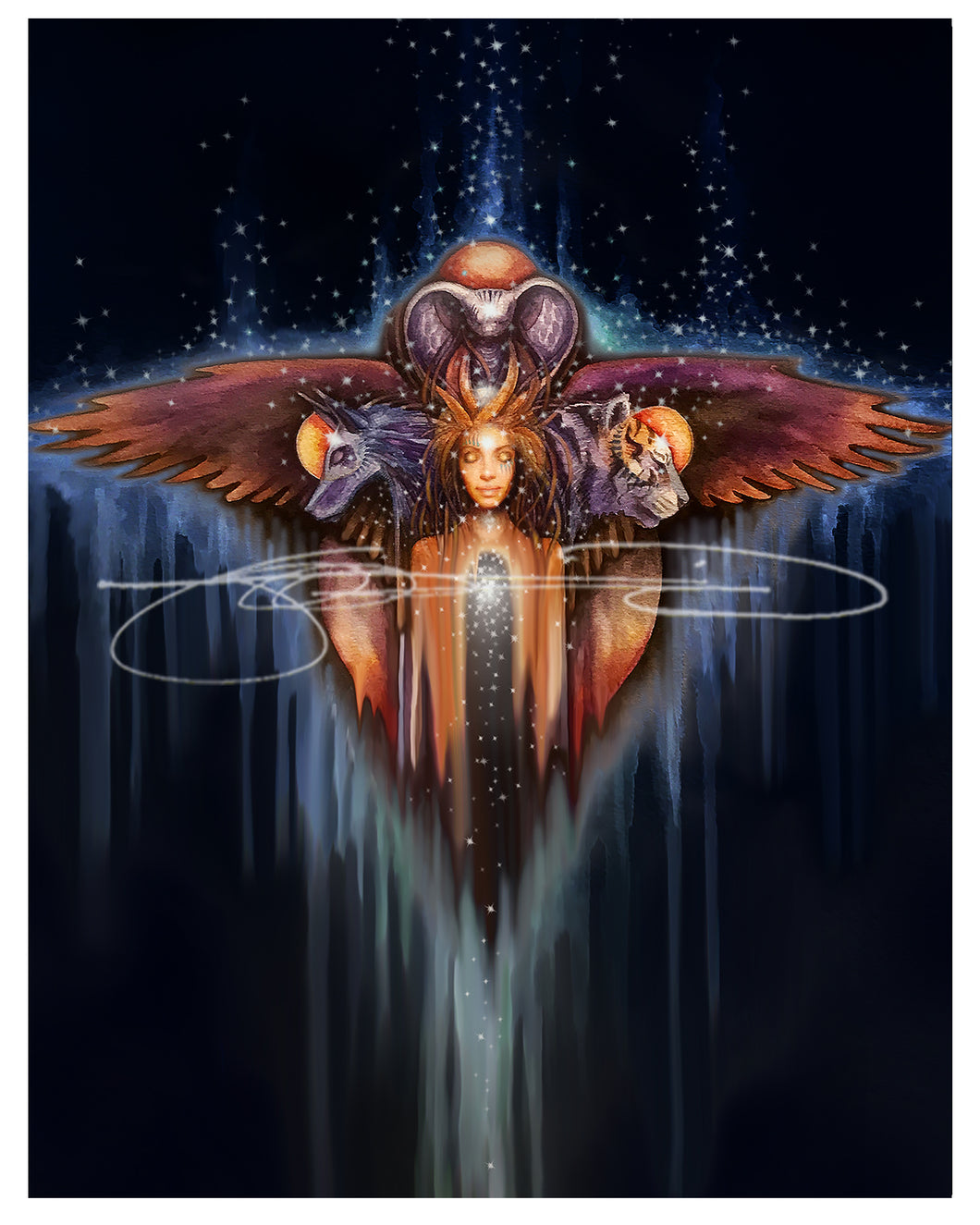 Inner Alliance - Animal Oracle Cover Inspiration (file download)
