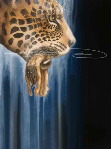Jaguar- Digital Print / Animal of the Inner Alliance Oracle (file download)