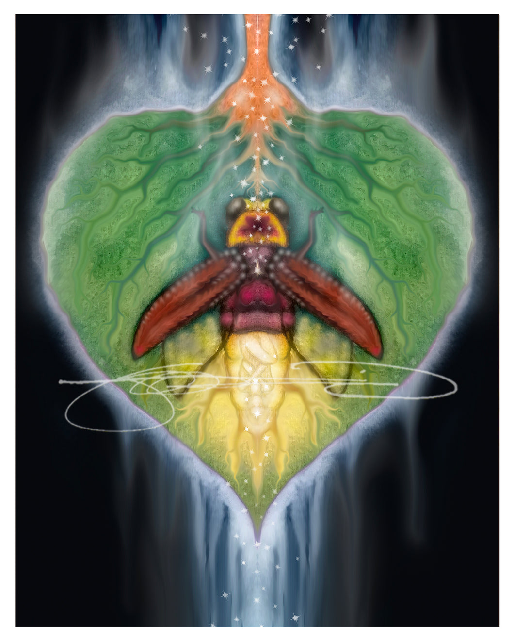 Lightning Bug- Digital Print / Animal of the Inner Alliance Oracle (file download)