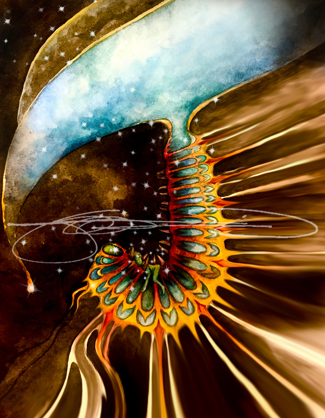 Caterpillar- Digital Prints  /  Animal of the Inner Alliance Oracle (file download)