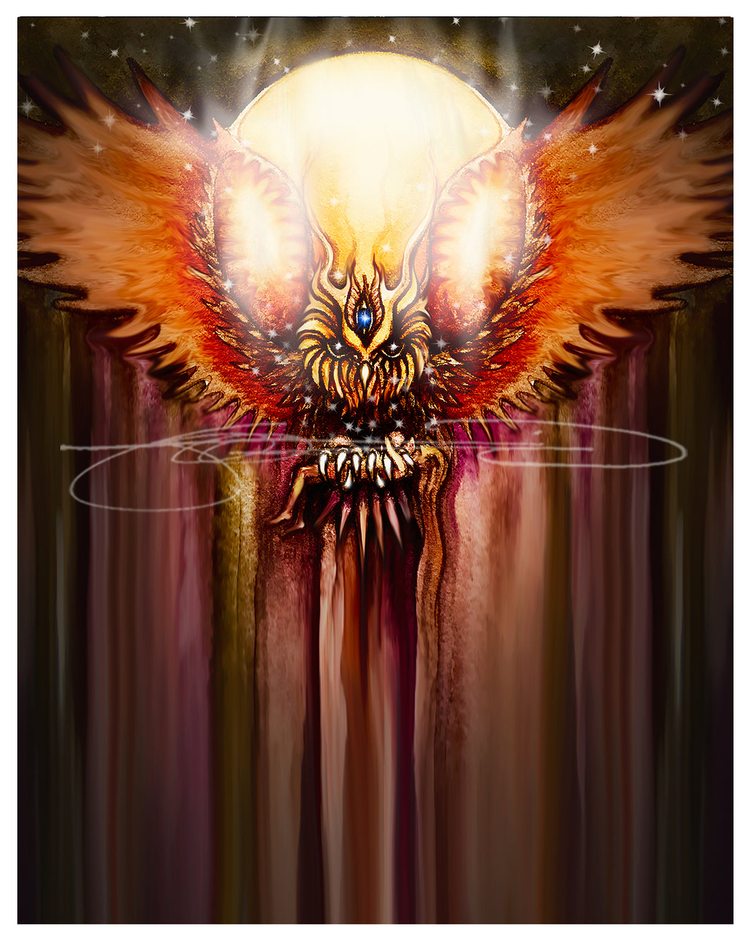 OWL- Digital Print / Animal of the Inner Alliance Oracle (file download)