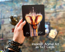 The Inner Alliance Animal Oracle ... 55 5x7 Card Deck! Free Shipping