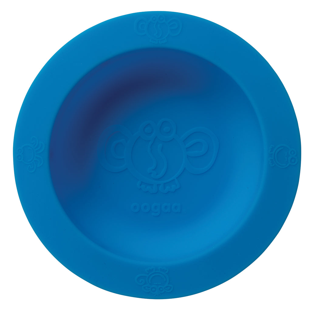 baby bowl weaning oogaa blue