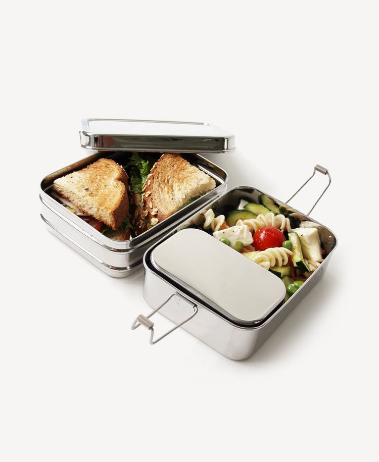 ECOlunchbox 3-in-1 Stainless Steel Lunchbox