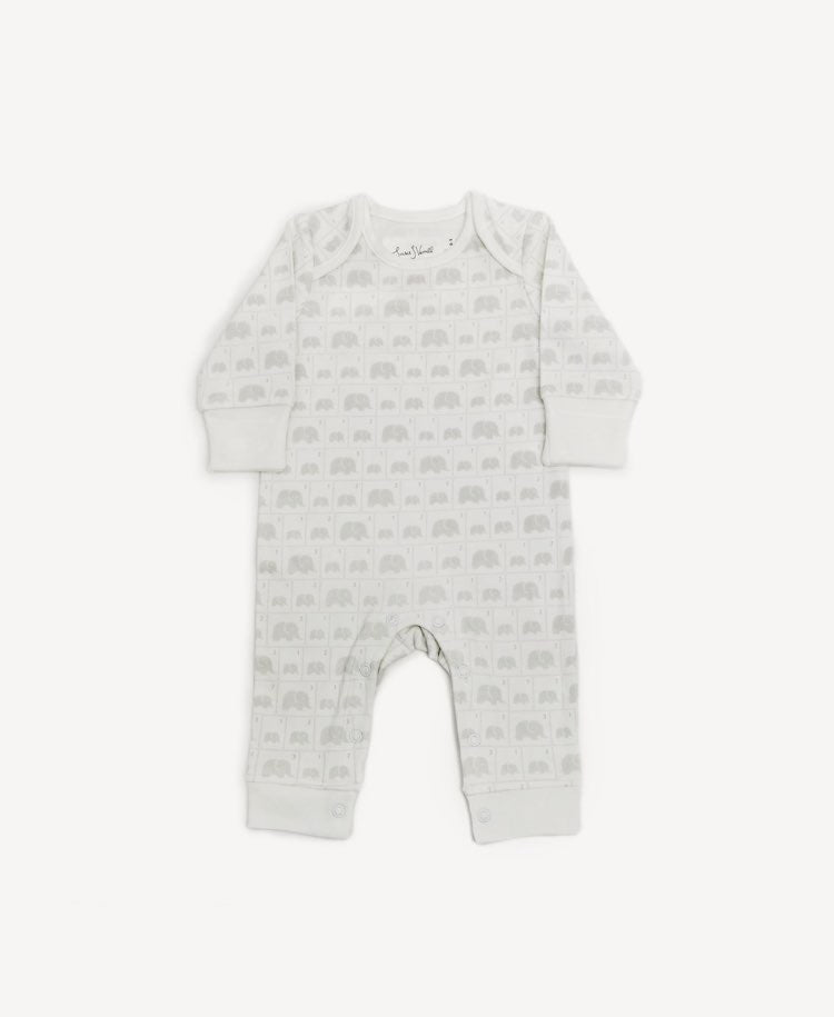 From Babies With Love elephant baby grow flat lay